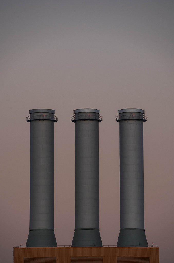 chimneys